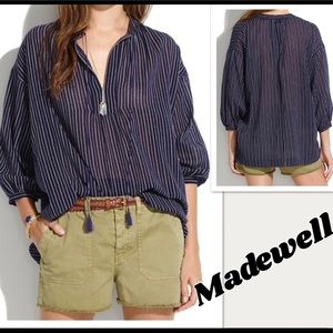 Madewell Openview Tunic Top
